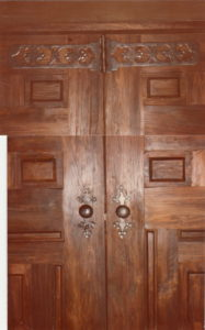 Door knobs and hinges