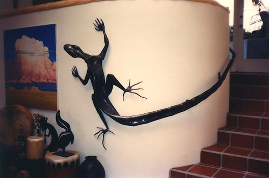 lizard handrail