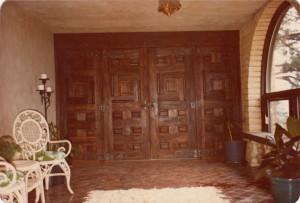 Custom door hardware
